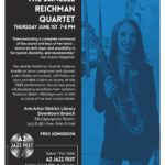 A2 Jazz Fest Kickoff 2018 featuring the Janelle Reichman Quartet