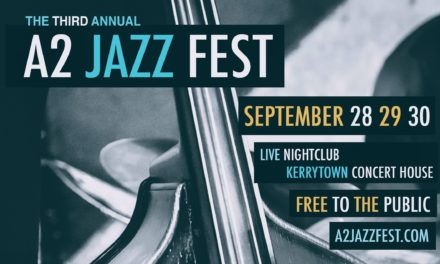 3rd Annual A2 Jazz Fest Official Poster – RELEASED!
