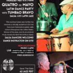 A2 Jazz Fest Spring Series: Quatro de Mayo Latin Jazz and Salsa Party with Tumbao Bravo