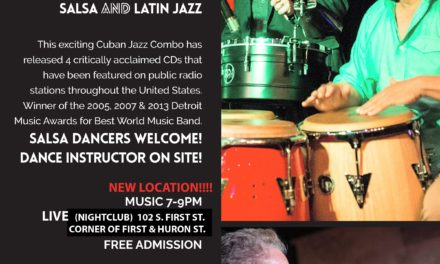 A2 Jazz Fest Spring Series: Quatro de Mayo Latin Jazz and Salsa Party with Tumbao Bravo