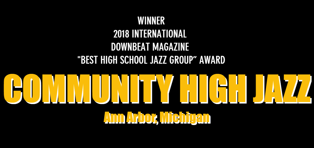 Artist Profile: Community High Jazz Quintet